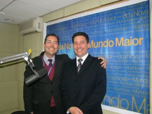 Visita à Rádio Boa Nova de Guarulhos