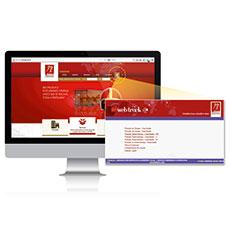 O SJ Web Track é facilmente acessível a partir do menu superior do website J. Moraes