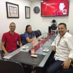 Visita de Amigos na J. Moraes